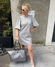 MbyM Emmaline Dress - Light Grey Melange