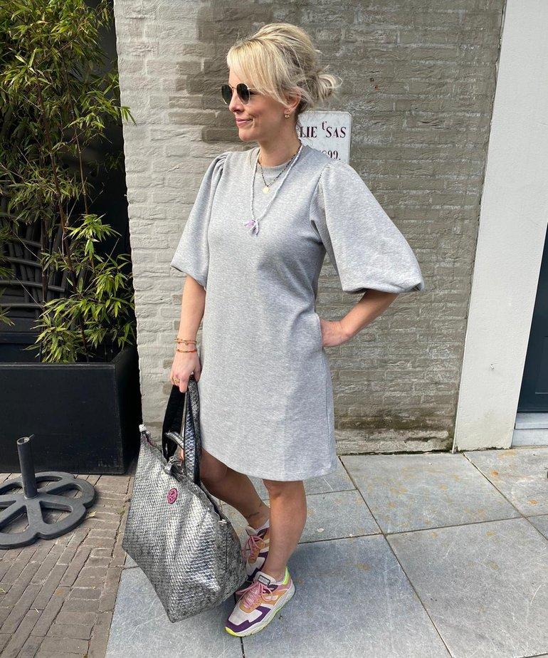 MbyM MbyM, Emmaline Dress - Light Grey Melange