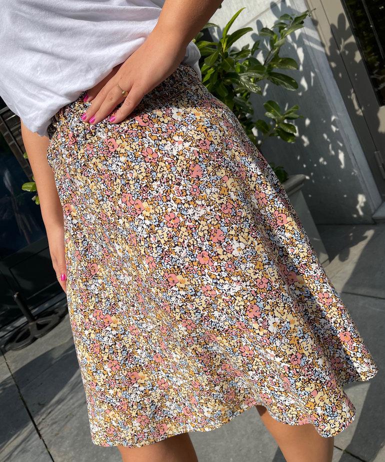 Saint Tropez Saint Tropez GislaSZ Skirt - Ice Multi Ditsy