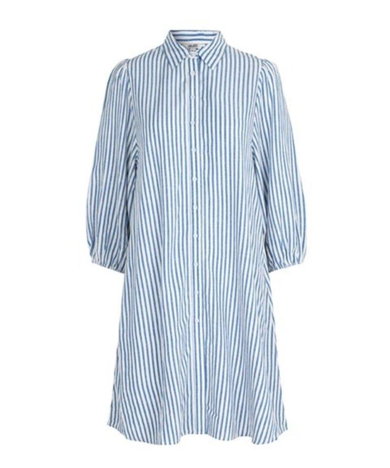 MbyM MbyM Dayana Stripe Dress - Blue Sugar Stripe