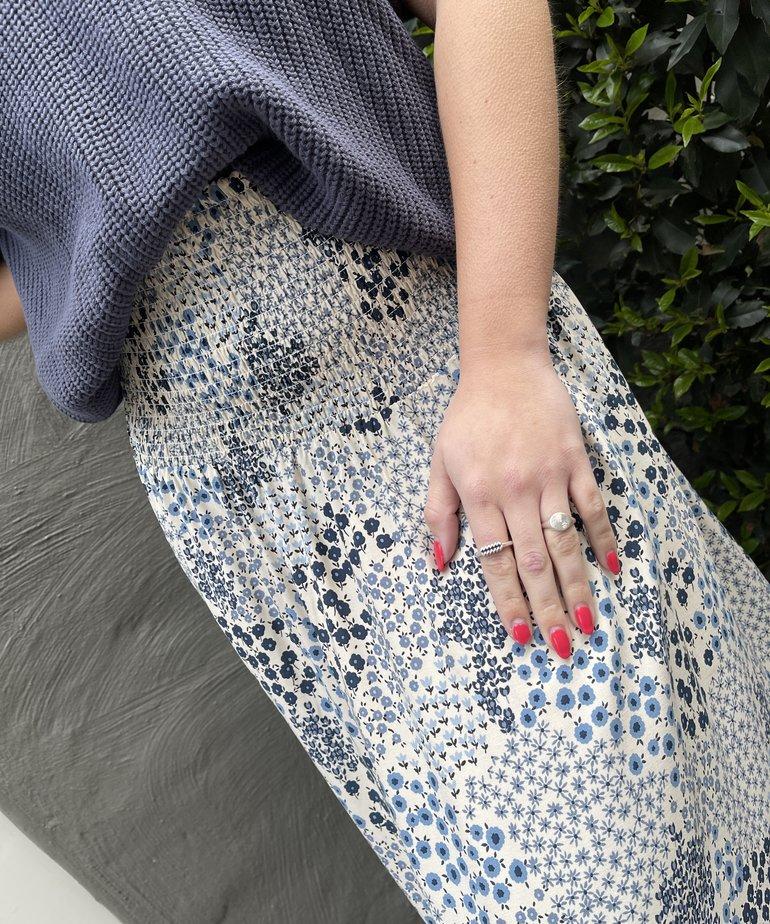 Saint Tropez Saint Tropez OlgaSZ Skirt Maxi - Dapple Blue Hill G