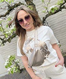 Catwalk Junkie T-Shirt Wild Shimmer - Whisper White