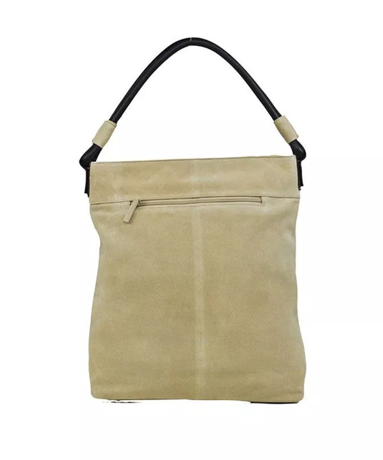 District Suede Shopper - Sand