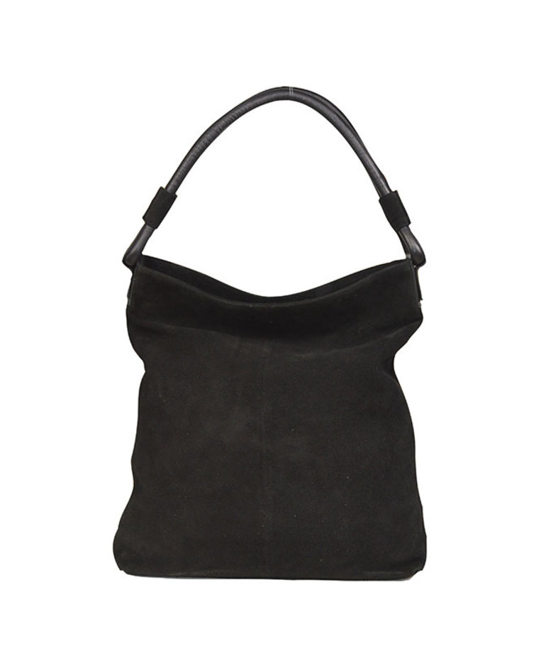 District Bags District Bags Suede Shopper - Black