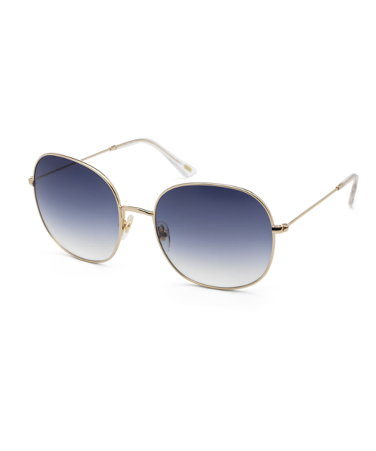 Ikki Ikki Zonnebril, CELESTE, Gold - Gradient Blue (72-4)