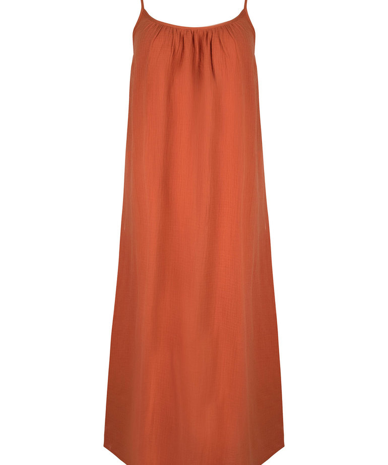 Ydence Ydence Dress Avery - Terracotta
