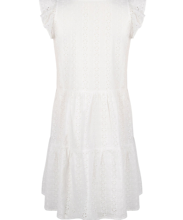 Ydence Ydence Dress Shelley - White