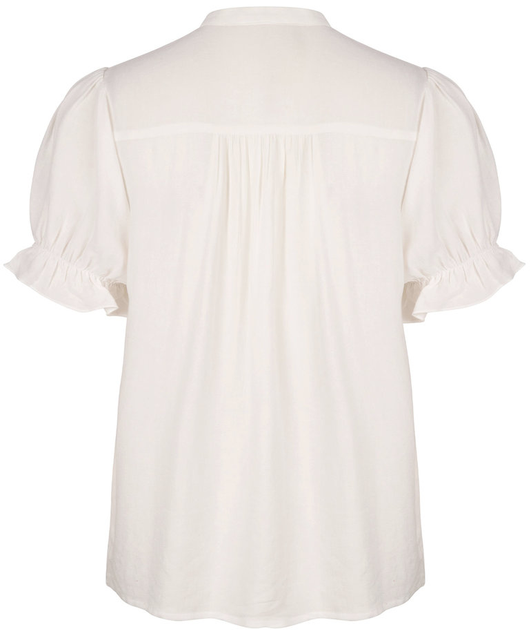 Ydence Ydence Blouse Claudia - White