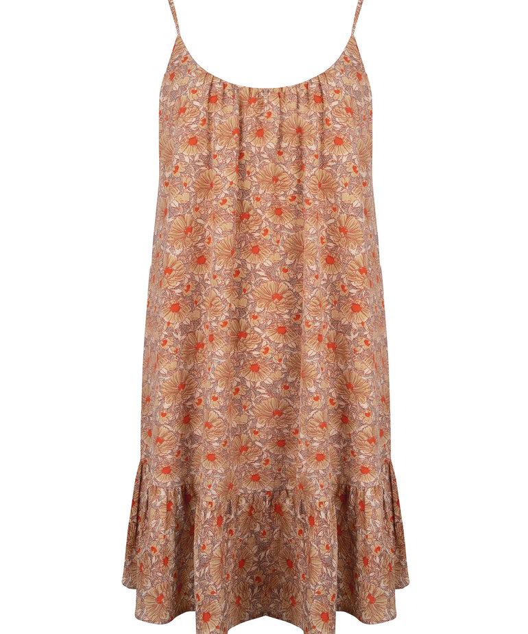Ydence Ydence Dress Rosie - Sand Flower