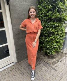Ydence Skirt Aranka - Terracotta
