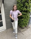 Ydence Ydence Blouse Beth - Lilac