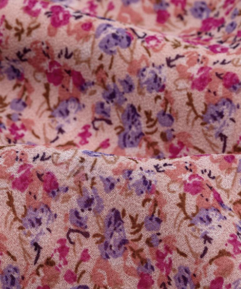 Ydence Ydence Skirt Marlowe - Lilac Flower