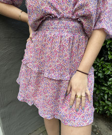 Ydence Skirt Marlowe - Lilac Flower