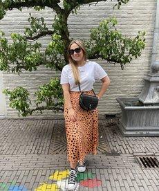 Catwalk Junkie Skirt Sunny Spots Midi - Pheasant