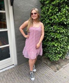 Ydence Dress Rosie - Lilac Flower