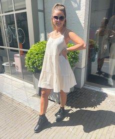 Ydence Dress Rae - Ecru