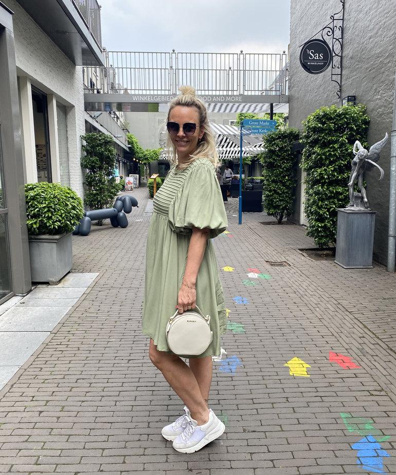 MbyM MbyM Jeffie Dress - Oil Green