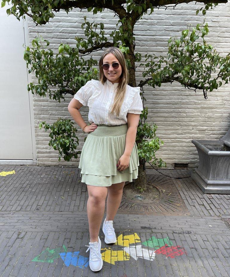 MbyM MbyM Skirt Jeffie - Oil Green