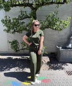 Saint Tropez BeatheSZ Long Pants - Army Green