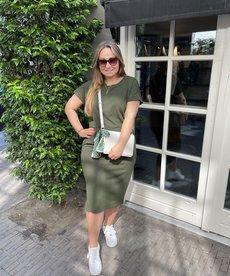 Saint Tropez BeatheSZ SS Dress - Army Green