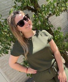 Saint Tropez BeatheSZ Top SS - Army Green