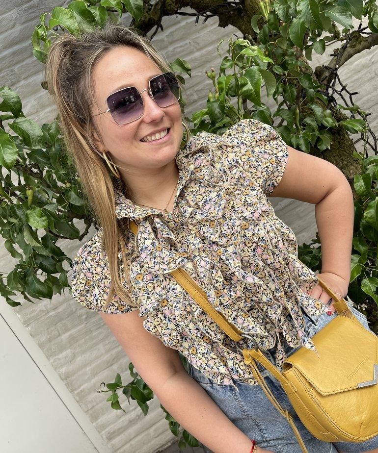 Saint Tropez Saint Tropez LillySZ SS Shirt - Bright White