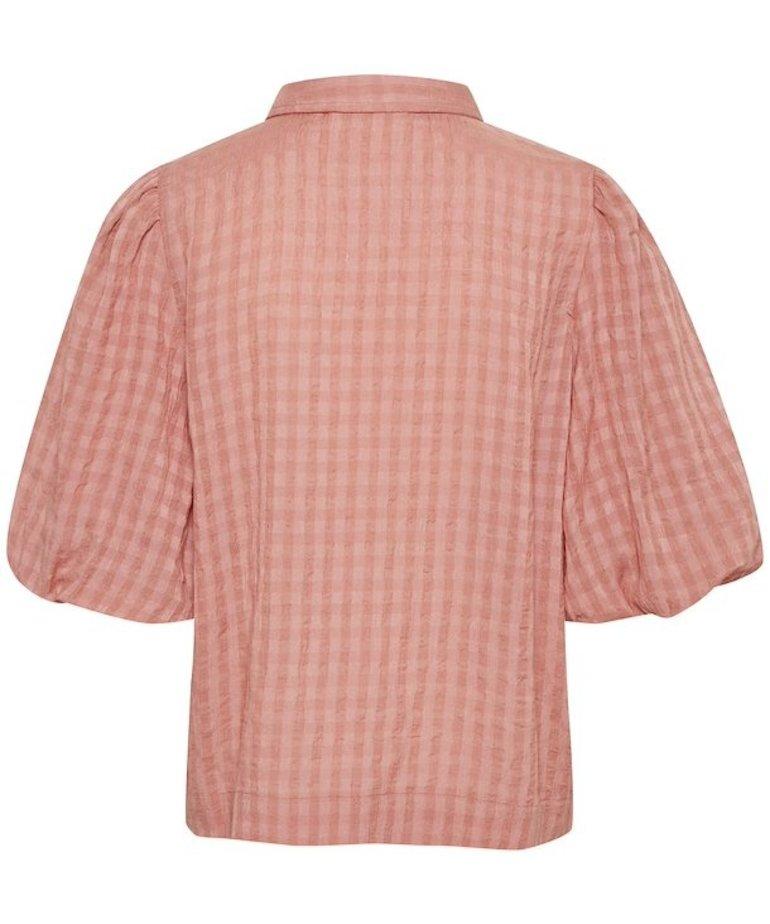 Saint Tropez Saint Tropez HirliSZ Shirt - Brick