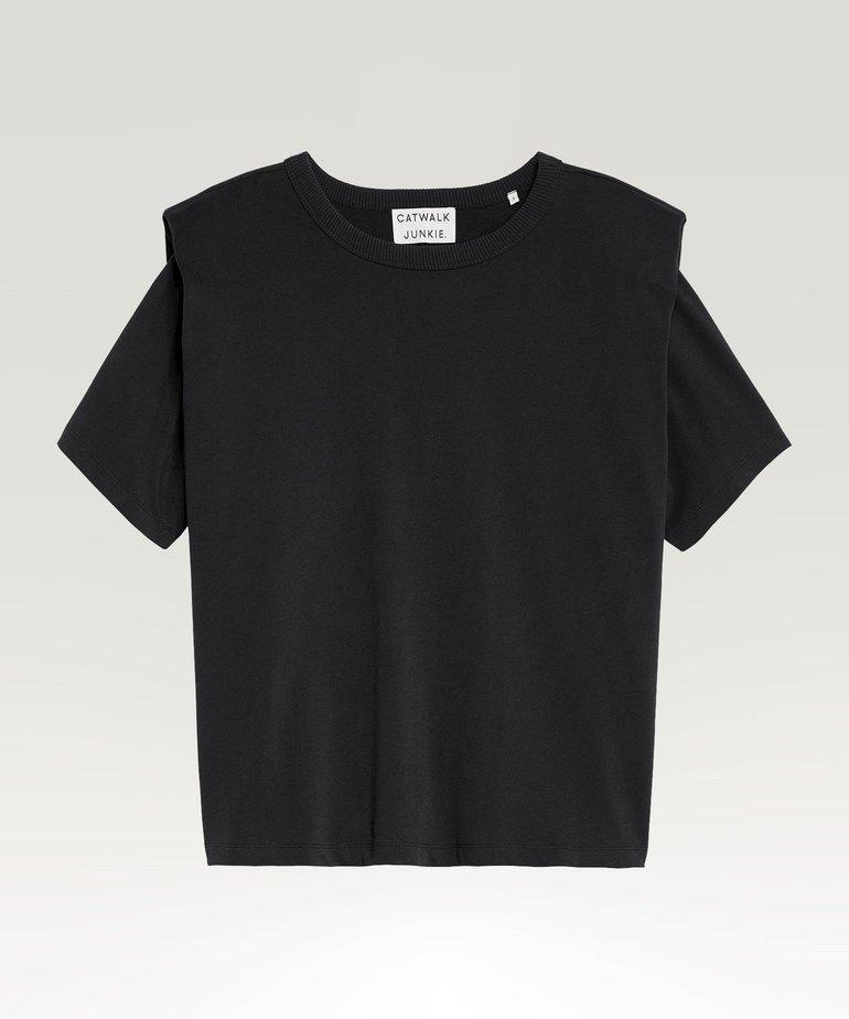 Catwalk Junkie Catwalk Junkie T-Shirt Sofia - Black