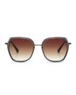 Ikki Ikki DONNA Transparent Grey - Gradient Brown 73-9