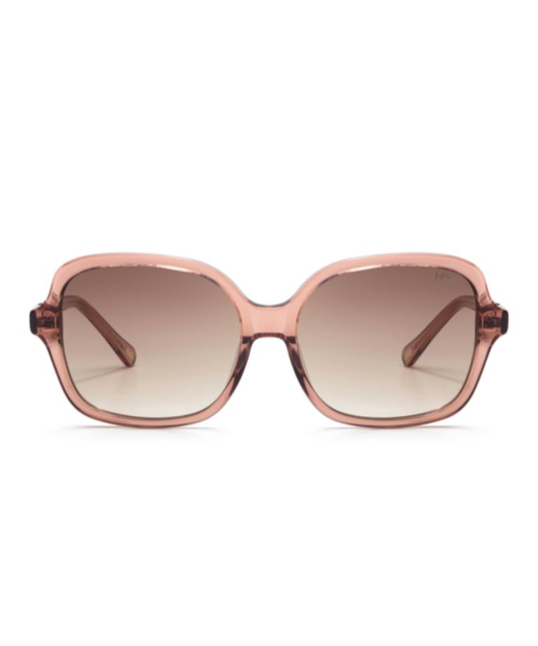 Ikki Ikki NORA Transparent Pink - Gradient Brown 91-1