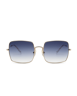 Ikki Ikki zonnebril ADELE, Gold - Gradient Blue (70-4)