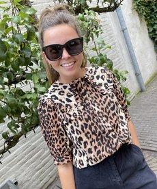 Catwalk Junkie Blouse Wild Leopard - Brown