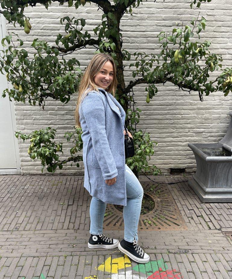 Nukus Nukus Minte Coat - Jeans