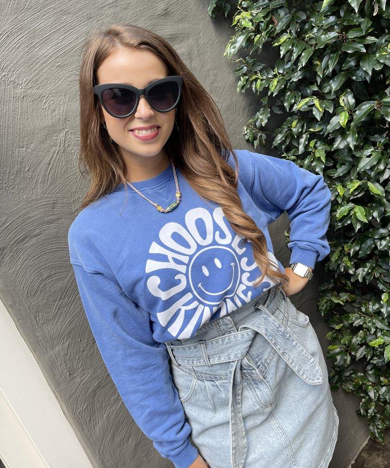 Catwalk Junkie Catwalk Junkie Sweater Kindness - Dazzaling Blue