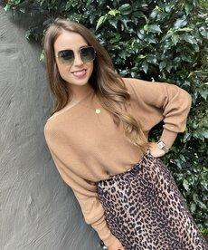 Catwalk Junkie Knit Lauren - Tabacco Brown