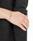 Zusss Zusss Armband met Chloriet Hangertje - Goud