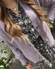 Zusss Zusss Vestje met Knopen - Lila