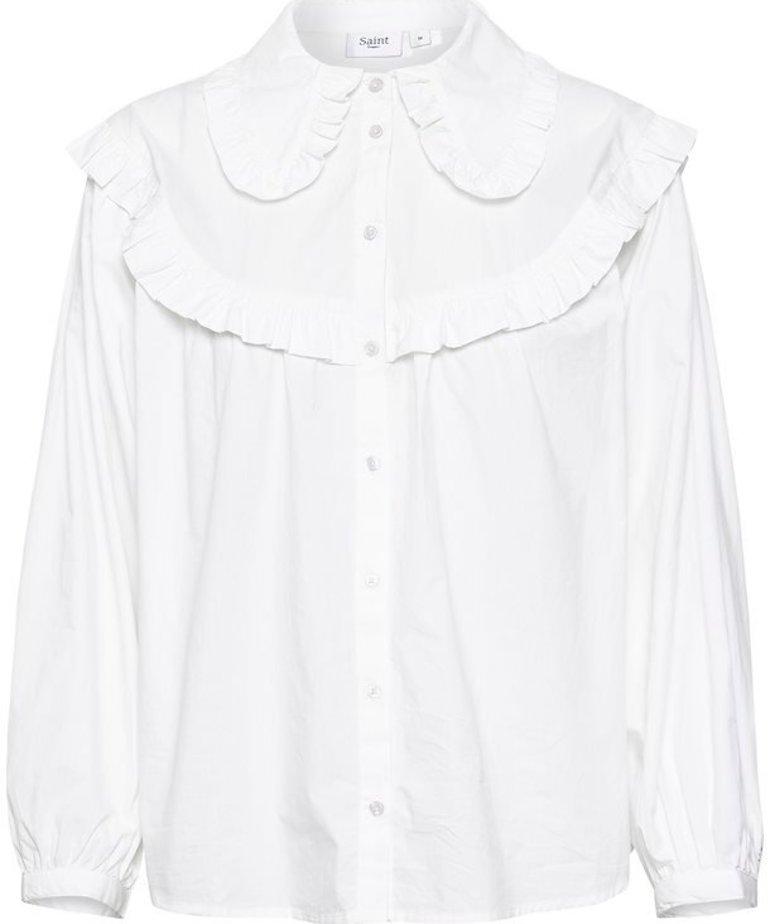 Saint Tropez Saint Tropez IvankaSZ Shirt - Bright White