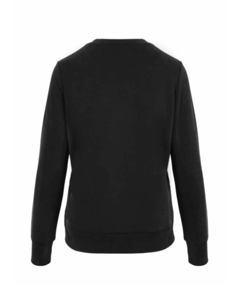Zusss Zusss Fijne Sweater - Off-Black