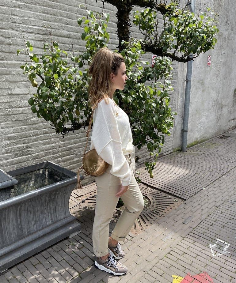 Nukus Nukus New York Sweater - Off White