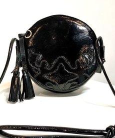 DWRS Label Bergamo Bag Verniz - Black