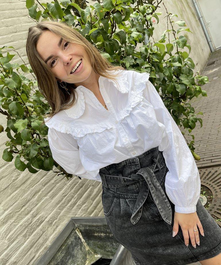 Catwalk Junkie Catwalk Junkie Skirt Boogie - Washed Grey