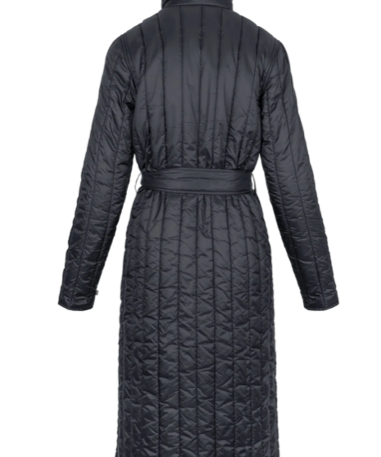 Zusss Zusss Gewatteerde Winterjas - Zwart