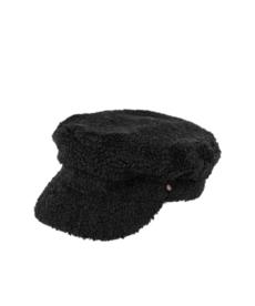 Zusss Stoere Pet Boucle - Zwart