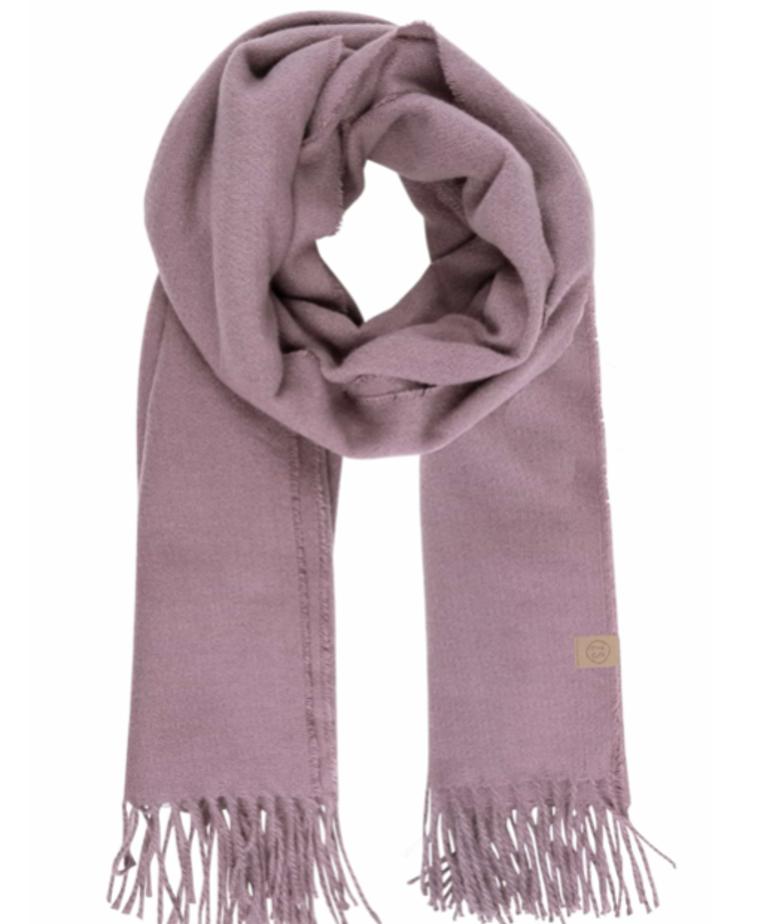 Zusss Zusss Basic Sjaal - Lila