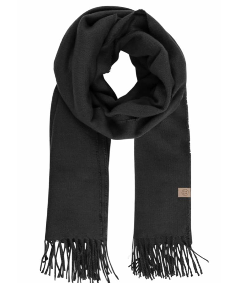 Zusss Zusss Basic Sjaal - Zwart