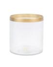 Zusss Zusss Waxinelichthouder Glas - Goud