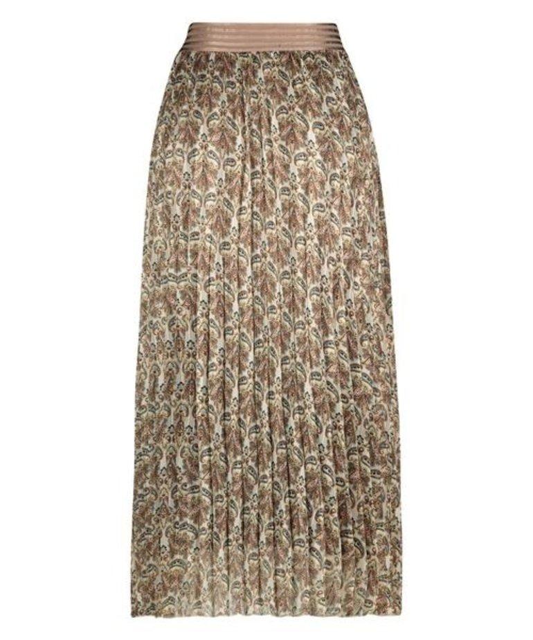 Nukus Nukus Sorentto Paisley Skirt - Sand