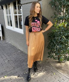 Catwalk Junkie Skirt Iza - Tabacco Brown
