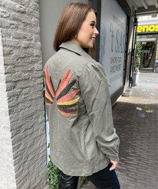 Saint Tropez IdaSZ Jacket - Army Green